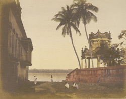 Garden pavilion on the Hooghly [Calcutta]